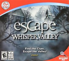 Escape Whisper Valley Game- PC and Mac compatible- Brand NEW (SF-0034)