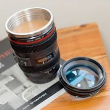 Camera Lens Travel Mug Coffee Tea Cup Work Office Drinking Fun Joke Gag Present