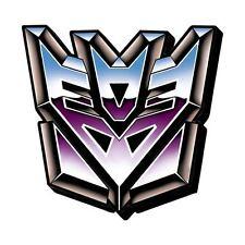 New Funky Chunky Magnet * Decepticon Logo * Symbol Transformers Animated Cartoon