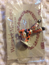 Miniature Clown Figure - One-handed Handstand - Metal - By Warwick Miniatures