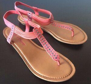 Pink & Pepper Mercie Sandals Brand New