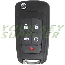 Replacement Flip Remote Key Fob for Chevy 2010-16 Camaro Cruze Equinox Malibu 5b