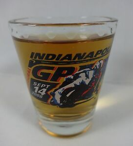 2008 Red Bull Indianapolis GP MOTO GP Collector Event Shot Glass IMS Indy