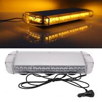 40LED Car Roof Recovery Light Bar Amber Warning Strobe Flashing Beacon Magnetic