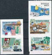[322774] Sweden 2016 good set of stamps very fine Adhesive