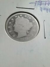 1912 Liberty Head Nickel US 5 Cents Copper