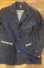 Def Jam University Denim Work Jacket Size XXL