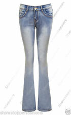 Jeans da donna blu denim, taglia 46