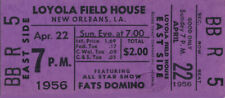 Fats Domino 1956 Blueberry Hill Unused Concert Ticket