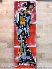 Atelier Picard Vallauris, Tableau Japonaise Années 60,70'