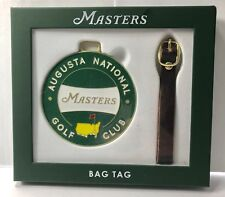 2018 Masters Golf Tournament BAG TAG from AUGUSTA NATIONAL - Ships Fast