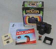 Holga 120CFN Camera with built-in Flash. Boxed with Booklet