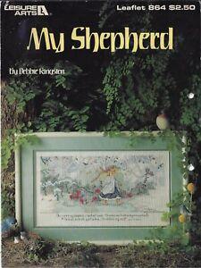 My Shepherd Cross Stitch chart Leisure Arts # 864 Debbie Kingston Psalm 23