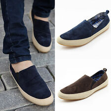 Fashion Men Sneakers Loafers Canvas Breathable Slip On Cotton Casual Shoes.