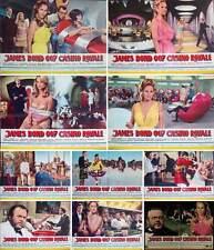 CASINO ROYALE JAMES BOND COMPLETE Italian fotobusta photobusta movie posters x10
