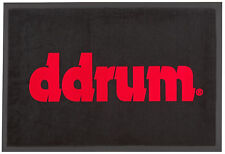 dDrum Official Complete Drum Set Protective Floor Mat Accessory with Large Logo