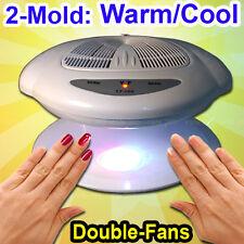 Nail Art Finger Varnish Dryer Polish Warm Cool Blower Fan Breeze Sensor WH & Sl