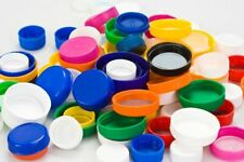 Wholesale 38/400 Smoothed Ribbed Plastic Screw Caps w/ Crc Seals Fit 150cc Lot