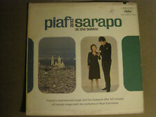 EDITH PIAF AND THEO SARAPO AT THE BOBINO LP CAPITOL T10348 FRENCH POP CHANSON VG