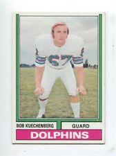 1974 Topps #225 Bob Kuechenberg Miami Dolphins