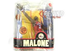 "MOSES MALONE 12 3/8"" ACTION FIGURE, McFarlane NBA Hardwood Classic, Autographed"