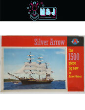 """Silver Arrow """"The full rig ship""""  1500 piece jigsaw puzzle (Aussie Seller"""