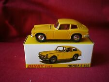 DINKY TOYS (éditions atlas) - Honda S 800 Ref: 1408 1/43