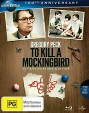 To Kill a Mockingbird Limited Edition Blu-ray 1962 Blu Ray DVD 50th Gregory Peck