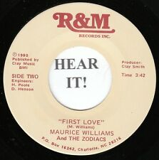 Maurice Williams and the Zodiacs NORTHERN 45 (R&M) First Love/Forever Beach  M-