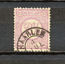 NNBM 054 NETHERLANDS 1876 USED PERF 12 1/2