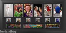 Willy Wonka and the Chocolate Factory S1 Deluxe Framed  Matted Genuine Film Cell