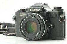 [EXC5 Avec / Bracelet] Nikon FE2 Noir Modèle + Nikkor AI-S 50mm F/1.8 Ais D