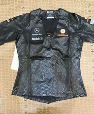 Rare collectable team issue Hugo Boss lewis Mclaren Mercedes F1 team car t-shirt