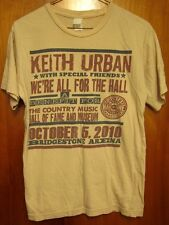 KEITH URBAN small T shirt John Mayer country Dolly Parton 2010 Charley Pride