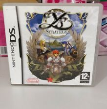 YS STRATEGY NINTENDO DS 2DS 3DS PAL UK  COMPLETO COME NUOVO VERY RARE COMPLETO