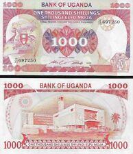 Uganda : 1000 Shillings 1986 P-26 UNC