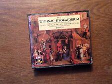 Bach - Weihnachtsoratorium [3 CD Box] EMI / THOMAS Fischer-Dieskau Giebel Traxel