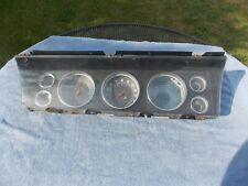 1967 Chevy Impala Speedometer gauges