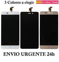 "Pantalla Completa ""ZTE Blade X3 A452"" Negra Blanca Dorada (LCD + Tactil) Display"