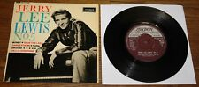 "JERRY LEE LEWIS ~ JERRY LEE LEWIS NO #5 ~ UK LONDON 4-TRACK 7"" EP 1962"