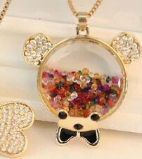 Oso de collar cristal PEDANT Jewelry