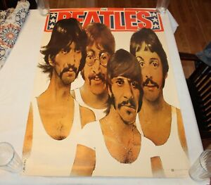 Vintage1985 THE BEATLES Poster DESA Poland