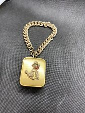 Vintage Lador Mini Music Box Bracelet Poodle Dog 7�