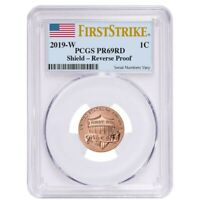 2019 W Reverse Proof Lincoln Penny Cent Comm. PCGS PF 69 FS