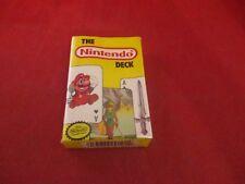 Nintendo Deck 1989 NES Era Playing Card Deck Super Mario 2 Legend of Zelda RARE