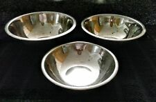 3 pc Aluminum Nesting Mixing Bowl Set, 3 Cup, 6 Cup, & 8 Cup