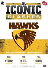 AFL - Iconic Clashes - Hawthorn (DVD, 2012, 3-Disc Set)