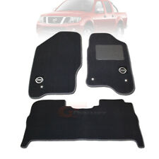 NISSAN NAVARA D40 ST-X Custom Made Floor Mats F+R STX APR/2012 to Current D40