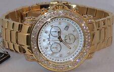 New Authentic Mens JOJO Joe Rodeo Junior  4.75Ct.aprx.real diamond watch. jju48