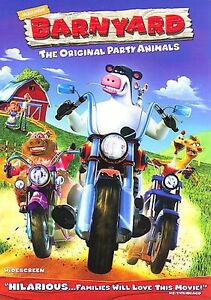 Barnyard New Factory Sealed  (DVD, 2006, Widescreen)